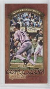 2012 Topps Gypsy Queen Glove Stories Minis #GS-DJ - Derek Jeter