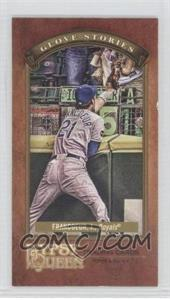 2012 Topps Gypsy Queen Glove Stories Minis #GS-JF - Jeff Francoeur