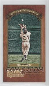 2012 Topps Gypsy Queen Glove Stories Minis #GS-WM - Willie Mays