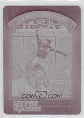 2012 Topps Gypsy Queen Glove Stories Printing Plate Magenta #GS-DW - Dewayne Wise /1