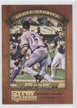 2012 Topps Gypsy Queen Glove Stories #GS-DJ - Derek Jeter