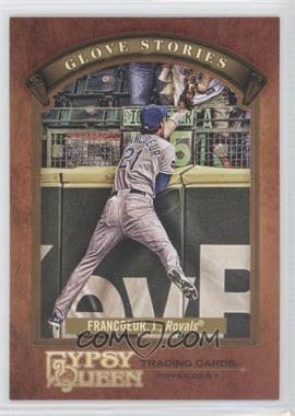 2012 Topps Gypsy Queen Glove Stories #GS-JF - Jeff Francoeur