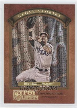 2012 Topps Gypsy Queen Glove Stories #GS-JH - Josh Hamilton