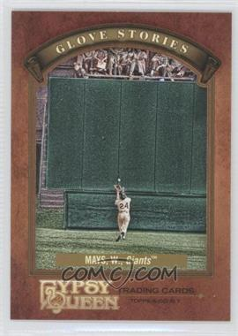 2012 Topps Gypsy Queen Glove Stories #GS-WM - Willie Mays