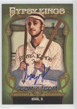 2012 Topps Gypsy Queen Gypsy Kings Certifed Autographs [Autographed] #GKA-1 - Dru Kosco