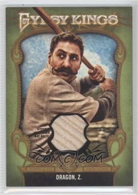 2012 Topps Gypsy Queen Gypsy Kings Relics #GKR-3 - Zorislav Dragon /25