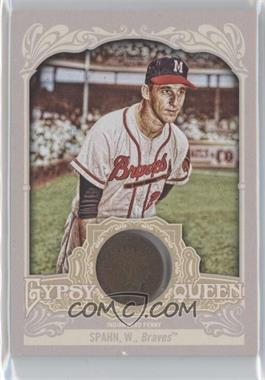 2012 Topps Gypsy Queen Indian Head Penny Relic #IHP-WS - Warren Spahn /10