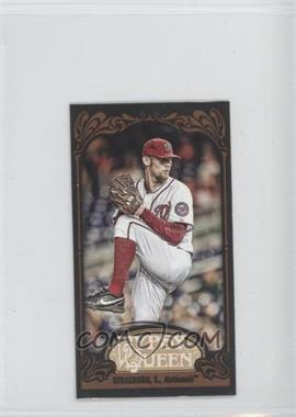2012 Topps Gypsy Queen Mini Black #184 - Stephen Strasburg