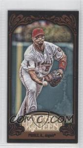 2012 Topps Gypsy Queen Mini Black #333 - Albert Pujols