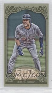 2012 Topps Gypsy Queen Mini Green #100 - Derek Jeter