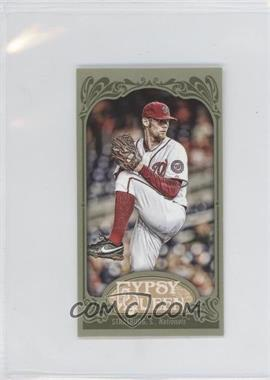 2012 Topps Gypsy Queen Mini Green #184 - Stephen Strasburg