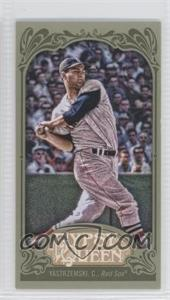 2012 Topps Gypsy Queen Mini Green #266 - Carl Yastrzemski