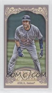2012 Topps Gypsy Queen Mini Gypsy Queen Back #100 - Derek Jeter