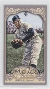 2012 Topps Gypsy Queen Mini Gypsy Queen Back #120 - Mickey Mantle