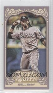 2012 Topps Gypsy Queen Mini Gypsy Queen Back #137 - Jose Reyes