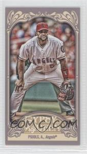 2012 Topps Gypsy Queen Mini Gypsy Queen Back #180 - Albert Pujols