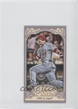 2012 Topps Gypsy Queen Mini Gypsy Queen Back #195 - Mike Trout