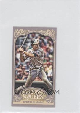2012 Topps Gypsy Queen Mini Gypsy Queen Back #253 - Cal Ripken Jr.