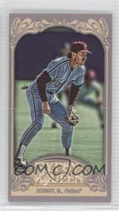 2012 Topps Gypsy Queen Mini Gypsy Queen Back #258 - Mike Schmidt