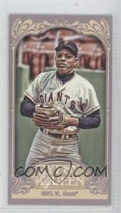 2012 Topps Gypsy Queen Mini Gypsy Queen Back #280 - Willie Mays