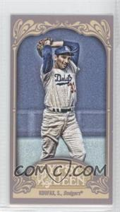 2012 Topps Gypsy Queen Mini Gypsy Queen Back #290 - Sandy Koufax