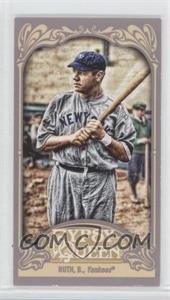 2012 Topps Gypsy Queen Mini Gypsy Queen Back #300 - Babe Ruth
