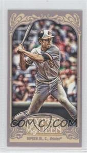 2012 Topps Gypsy Queen Mini Gypsy Queen Back #344 - Cal Ripken Jr.