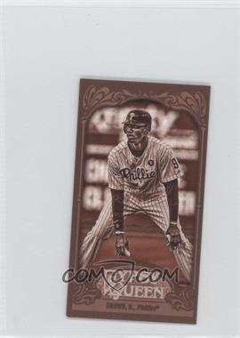 2012 Topps Gypsy Queen Mini Sepia #131 - Domonic Brown /99