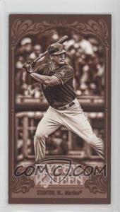 2012 Topps Gypsy Queen Mini Sepia #147 - Giancarlo Stanton /99