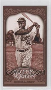 2012 Topps Gypsy Queen Mini Sepia #18 - Jackie Robinson /99
