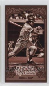 2012 Topps Gypsy Queen Mini Sepia #226 - Johnny Bench /99