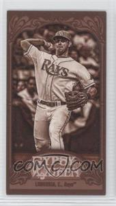 2012 Topps Gypsy Queen Mini Sepia #230 - Evan Longoria /99
