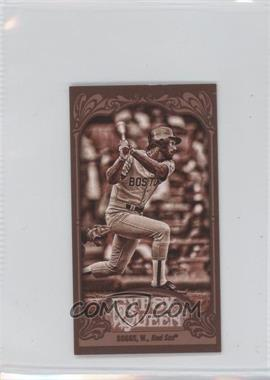 2012 Topps Gypsy Queen Mini Sepia #248 - Wade Boggs /99