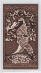 2012 Topps Gypsy Queen Mini Sepia #266 - Carl Yastrzemski /99