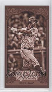 2012 Topps Gypsy Queen Mini Sepia #311 - Brandon Belt /99