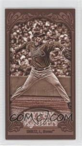2012 Topps Gypsy Queen Mini Sepia #345 - John Smoltz /99