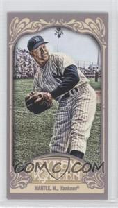 2012 Topps Gypsy Queen Mini Straight Cut #120 - Mickey Mantle