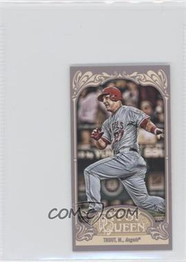 2012 Topps Gypsy Queen Mini Straight Cut #195 - Mike Trout