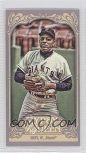 2012 Topps Gypsy Queen Mini Straight Cut #280 - Willie Mays
