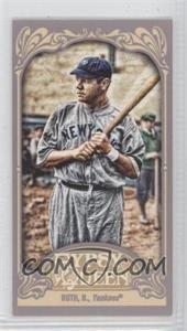 2012 Topps Gypsy Queen Mini Straight Cut #300 - Babe Ruth