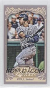 2012 Topps Gypsy Queen Mini #100.1 - Derek Jeter (Backswing)