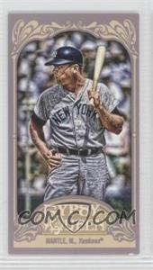 2012 Topps Gypsy Queen Mini #120 - Mickey Mantle