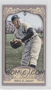 2012 Topps Gypsy Queen Mini #120.1 - Mickey Mantle (Throwing)
