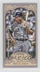 2012 Topps Gypsy Queen Mini #120.2 - Mickey Mantle (Batting)