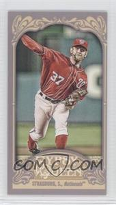 2012 Topps Gypsy Queen Mini #184.2 - Stephen Strasburg (Red Jersey)