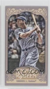 2012 Topps Gypsy Queen Mini #232.1 - Joe DiMaggio (Gray Jersey)