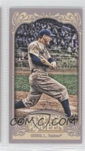 2012 Topps Gypsy Queen Mini #236 - Lou Gehrig