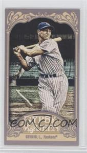 2012 Topps Gypsy Queen Mini #236.1 - Lou Gehrig (Pinstripes)