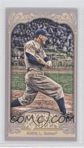 2012 Topps Gypsy Queen Mini #236.2 - Lou Gehrig (Gray Jersey)