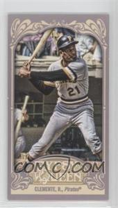 2012 Topps Gypsy Queen Mini #270.2 - Roberto Clemente (Batting)